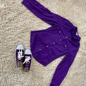 Purple Bundle Top & Sneakers